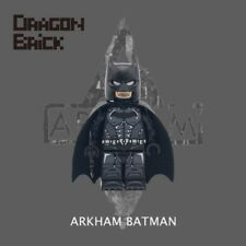 **NEW** DRAGON BRICK Custom Arkham Batman Lego Minifigure