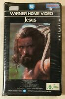 Jesus (The Jesus Film) VHS 1979 Biblical Drama 1981 Warner Home Video Ex-Rental