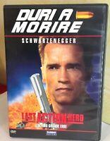 Last Action Hero DVD Arnold Schwarzenegger  - Duri a Morire Fabbri Editori