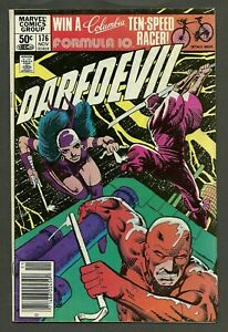 Daredevil #176 (1981) 1st Appearance of Stick Newsstand Variant Edition