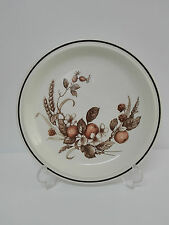 Plato de Porcelana ROYAL TUDOR Mod. CROWN HARVEST Inglaterra Staffordshire
