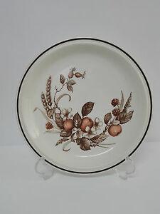 Plato de Porcelana ROYAL TUDOR Mod. CROWN HARVEST Inglaterra Staffordshire