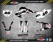 Honda CRF 150 F 2003 - 2007 Custom Graphic kit SAFARI style decals / stickers