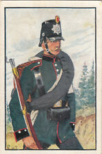 Schaumburg-Lippe Fusilier 1866 Deutsches Heer Germany Uniform IMAGE CARD 30s