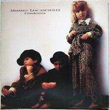 MIMMO LOCASCIULLI Clandestina RUGGERI LP VINYL 1987 PROMO WHITE LABEL NEAR MINT