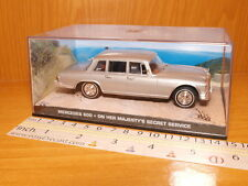 MERCEDES 600 1:43 ON HER MAJESTY'S SECRET SERVICE JAMES BOND 007 CAR