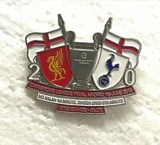 Liverpool FC Champions League  Final Madrid 2019 winners Pin Badge