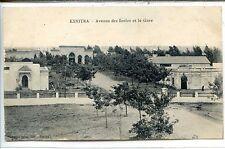 CP Maroc - Morocco - Kenitra - Avenue des Acoles et la Gare