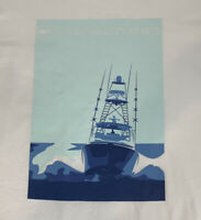 Vineyard Vines Mens SportFisher Poster L/S Pocket T-Shirt White Sz 2XL- NEW