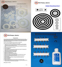 1971 Gottlieb Astro Pinball Machine Tune-up Kit - Includes Rubber Rings!
