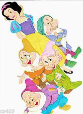 Disney seven dwarfs dopey wall decal prepasted border cut out 4.5 inch