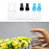 2Pcs 20ML Mini Small Empty Plastic Perfume Transparent Atomizer Spray Bottles fw