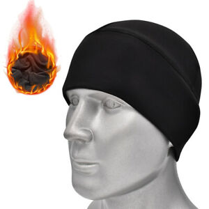 Winter Fleece Beanie Hat Warm Motorcycle Bike Snow Ski Skull Cap for Men Women