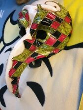 Original Venice Paper Mache Mask : Masquerade Mask - Genuine product of Venice