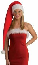 Christmas Santa Claus Hat Costume Party Fancy Dress Adult Costume Accessory HO