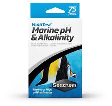 Seachem MultiTest Marine pH Alkalinity Test Kit 75 Tests   Free Shipping