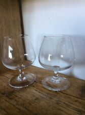 Two Brandy Glasses 5 X 3 Inch