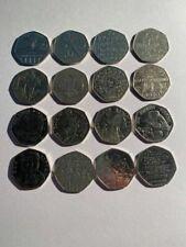 Rare 50p Coins (Various)