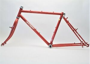 "VINTAGE SPECIALIZED ROCK HOPPER 24"" WHEEL BICYCLE 17"" FRAME & FORK 126 MM"