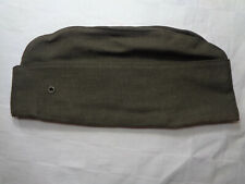 1980 US Marines Vietnam Green Wool Serge Garrison Cap sz 6 7/8 Sam Bonk Cap Co.