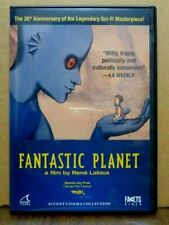 FANTASTIC PLANET Rene Laroux 35th Anniversary Edition DVD Like New