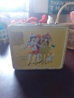 Junior  Miss Vintage Metal Lunchbox 1966