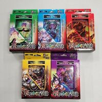 Force of Will Set of 5 Deck Fire Water Light Wind Darkness Children of the Night