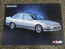 1996 HOLDEN VS HSV GRANGE SERIES 2  BROCHURE.