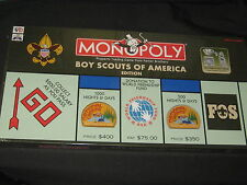 Boy Scouts of America Monopoly Game, Monopoly 70th & BSA 95th Anniversary   cjp