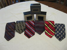 LOT OF 6 ROBERT TALBOTT BEST OF CLASS/NORDSTROM'S MEN'S TIES