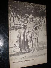 More details for old  postcard arab sugar cane seller egypt c1900s