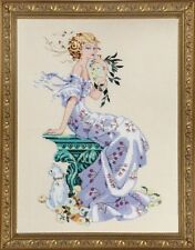 """SALE! COMPLETE XSTITCH KIT """"FLORENTINA MD138"""" by Mirabilia"""