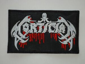 MORTICIAN DEATH METAL EMBROIDERED PATCH