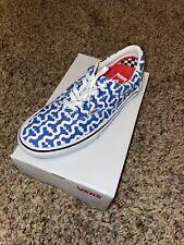 Supreme Vans Monogram S Logo Skate Era In Hand Royal Blue | Size 9