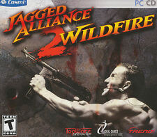 Jagged Alliance 2 II WILDFIRE - Classic Combat Strategy PC Game - Brand NEW!
