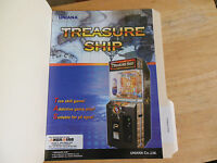 TREASURE SHIP ARCADE GAME  FLYER