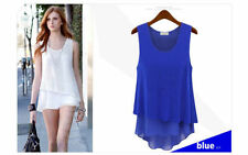 Unbranded Machine Washable Casual Sleeveless Tops for Women