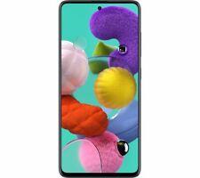 """SAMSUNG Galaxy A51 Smartphone 128 GB 6.5"""" Full HD Quad Camera Black - Currys"""