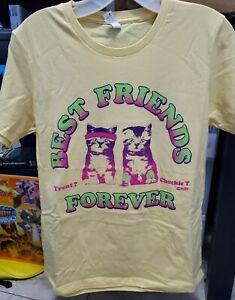 Best Friends Trent & Chuck Cat T-Shirt Woman's Large ROH Wrestling AEW