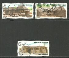 Ivory Coast 1986 Rural Houses--Attractive Topical (802-04) fine used