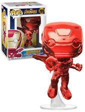Funko POP! Marvel Avengers: Infinity War #285 Iron Man (Red Chrome) - New, Mint