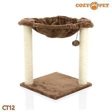 Cozy Pet Deluxe árbol del Gato que Rasguña el Poste Sisal Calidad árboles Cat-CT12-Chocolate