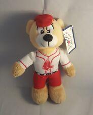 Boston Red Sox Teddy Bear NEW NWT MLB Good Stuff HOF Toy Baseball Rare