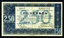 NIEDERLANDE. 2,50 Gulden 1938. P. 62. Serie E.