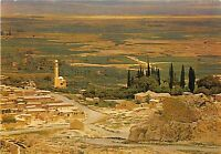 BG9525 view of the plain of jericho looking towards the river jordan   israel