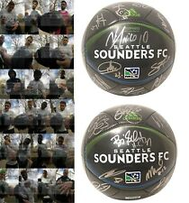 2017 Seattle Sounders FC Team Autographed Signed Adidas Logo Soccer Ball Proof
