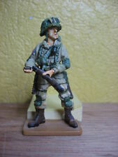 FIGURINE DEL PRADO SOLDAT PARACHUTISTE AMERICAIN NORMANDIE 1944 USA WWII