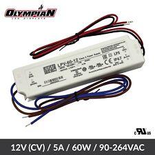 Mean Well Lpv 60 24 Panel Mount Power Supply Lpv Series Ac Dc 12 Volt 5 Amp