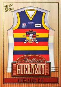 2004 SELECT AFL OVATION HERITAGE GUERNSEY, ADELAIDE CROWS HJ16