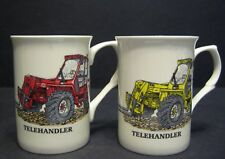 TELEHANDLER TRACTOR Fine Bone China Mug Cup Beaker
